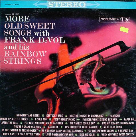 "Frank DeVol Vinyl 12"""