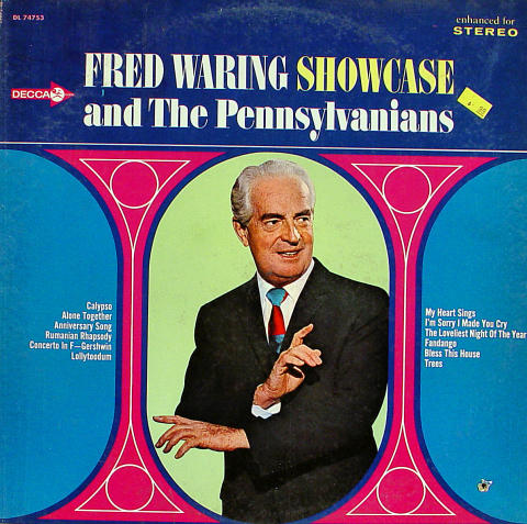 """Fred Waring And The Pennyslvanians Vinyl 12"""""""