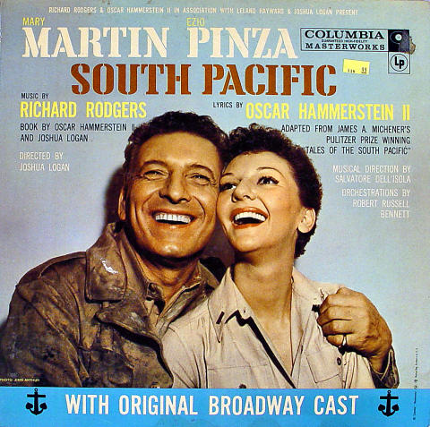 South Pacific Vinyl 12""