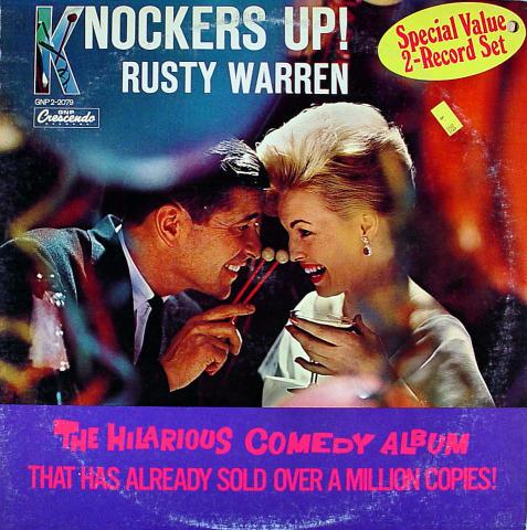 """Rusty Warren Vinyl 12"""""""