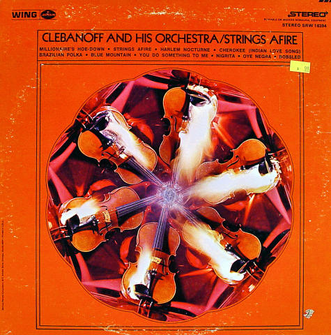 Clebanoff And His Orchestra Vinyl 12""