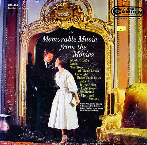 "Memorable Music From The Movies Vinyl 12"" (Used)"
