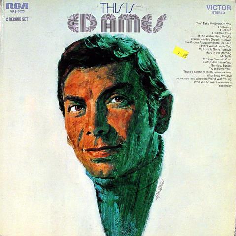 "Ed Ames Vinyl 12"""