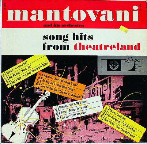 """Mantovani Vinyl 12"""""""