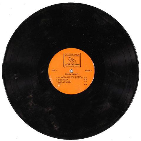 "Sidney Bechet Vinyl 12"""