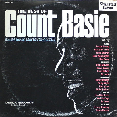 """Count Basie and His Orchestra Vinyl 12"""""""