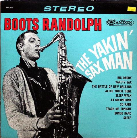 """Boots Randolph Vinyl 12"""""""