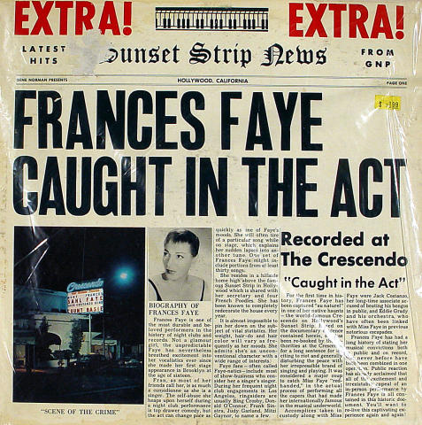 """Francis Faye Vinyl 12"""""""