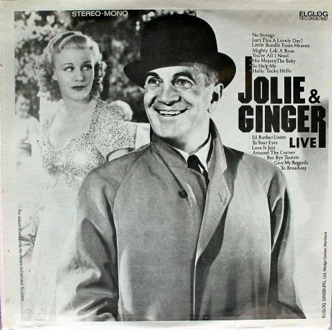 """Jolie & Ginger Live Vinyl 12"""""""