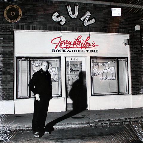 "Jerry Lee Lewis Vinyl 12"""