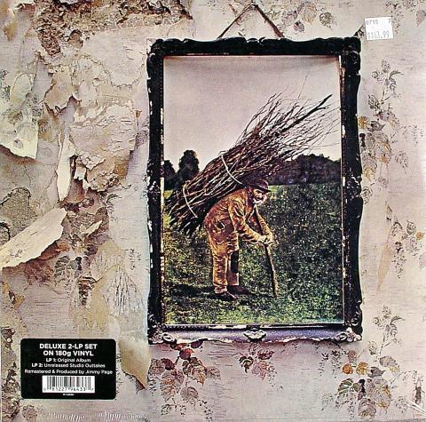 """Led Zeppelin Vinyl 12"""" (New)"""