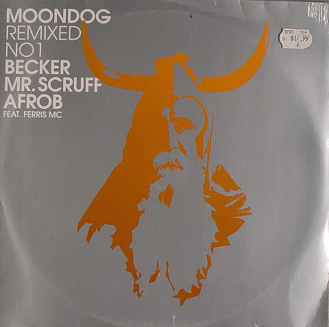 Moondog Remixed No.1 Vinyl 12""