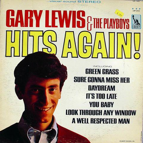 "Gary Lewis and the Playboys Vinyl 12"""