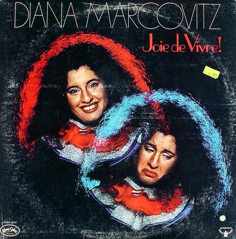 "Diana Marcovitz Vinyl 12"""