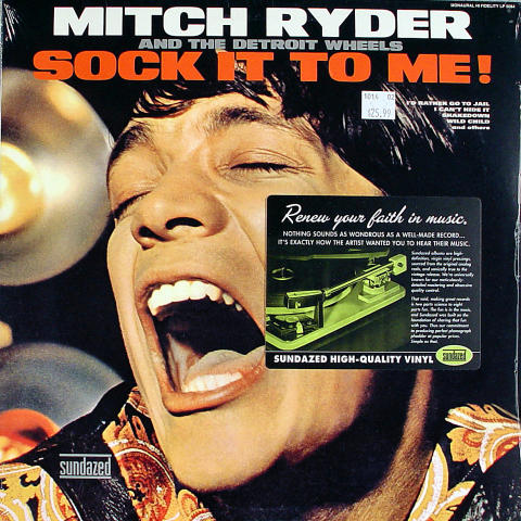 """Mitch Ryder and the Detroit Wheels Vinyl 12"""""""