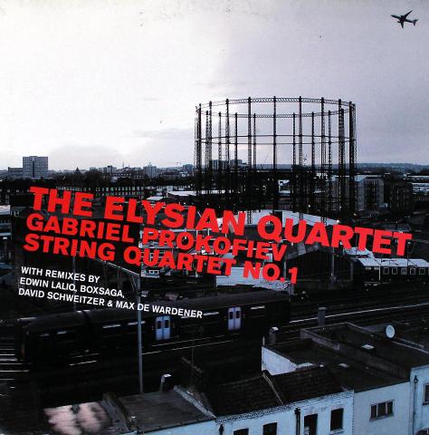 "The Elysian Quartet Vinyl 12"""