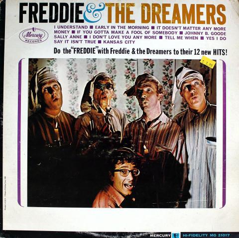 """Freddie & The Dreamers Vinyl 12"""""""