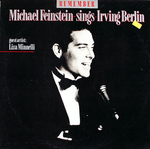 Michael Fienstein Sings Irving Berlin Vinyl 12""