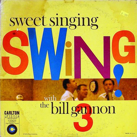 """Bill Gannon 3 Vinyl 12"""""""