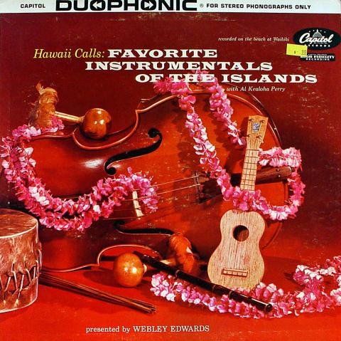 Hawaii Calls: Favorite Instrumentals Of The Islands Vinyl 12""