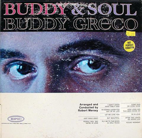 """Buddy Greco Vinyl 12"""""""