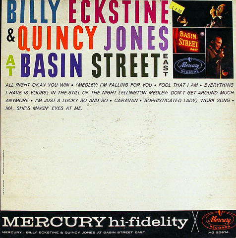 Billy Eckstine Vinyl 12""