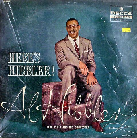 "Al Hibbler Vinyl 12"""