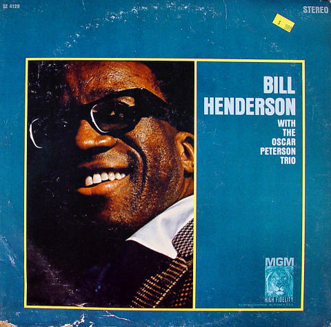 Bill Henderson With The Oscar Peterson Trio Vinyl 12""