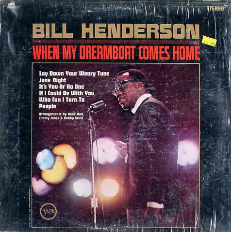 """Bill Henderson Vinyl 12"""""""
