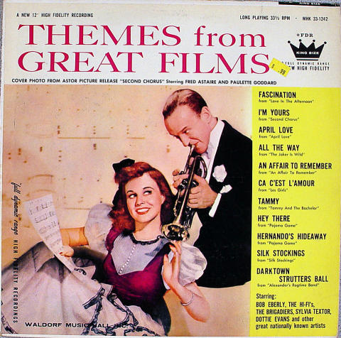 Themes From Great Films Vinyl 12""