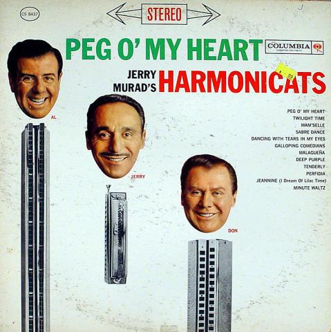 "Jerry Murad's Harmonicats Vinyl 12"""