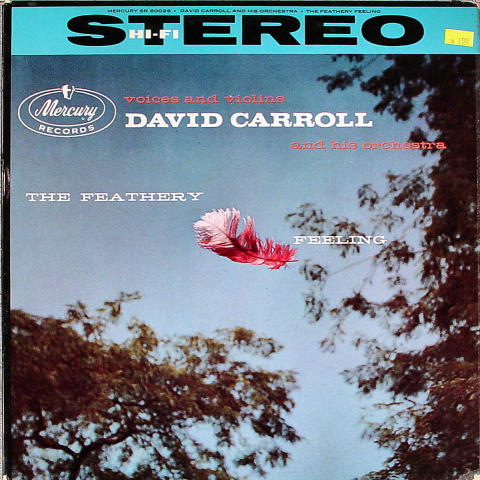 "David Carroll And His Orchestra Vinyl 12"""