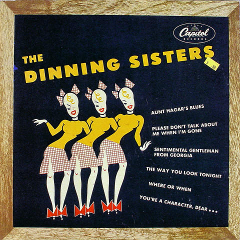 "The Dinning Sisters Vinyl 12"""