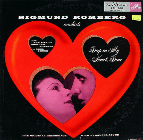 "Sigmund Romberg And His Orchestra Vinyl 12"""