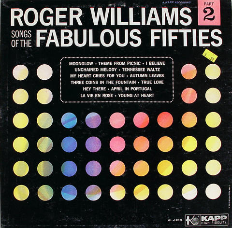 Roger Williams Vinyl 12""