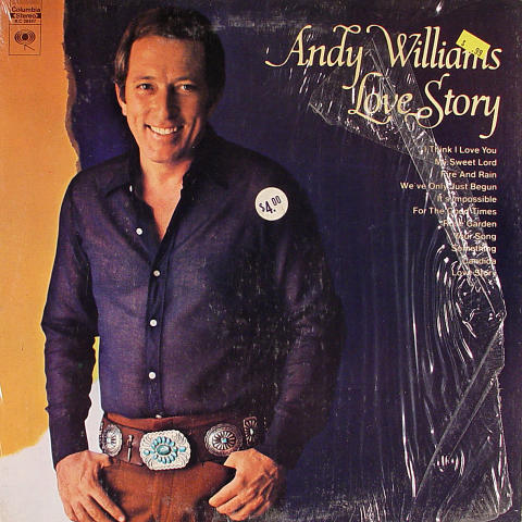 Andy Williams Vinyl 12""