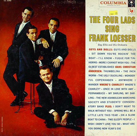 "The Four Lads Vinyl 12"""
