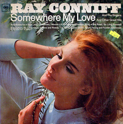 """Ray Conniff And The Singers Vinyl 12"""""""
