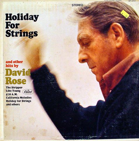 "David Rose And His Orchestra Vinyl 12"""