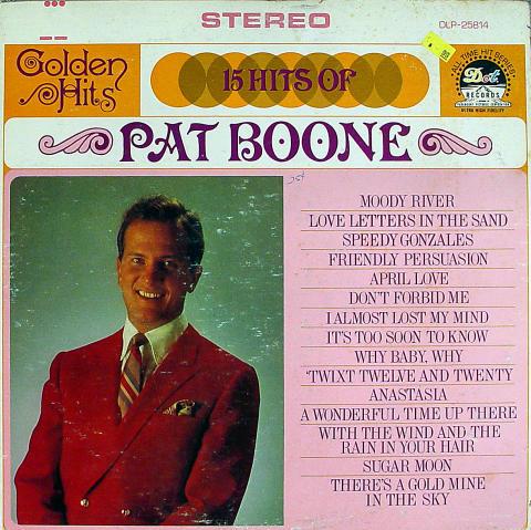 "Pat Boone Vinyl 12"""