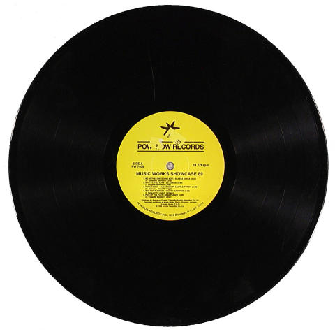 "Music Works Showcase 90 Vinyl 12"""