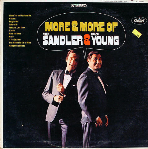 "Tony Sandler / Ralph Young Vinyl 12"""
