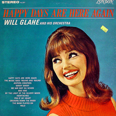 """Will Glahe And His Orchestra Vinyl 12"""""""