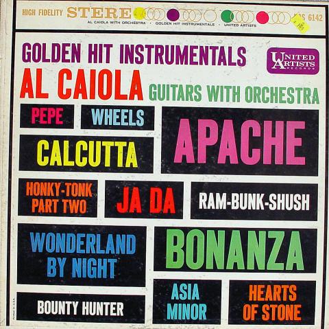 "Al Caiola Guitars With Orchestra Vinyl 12"""