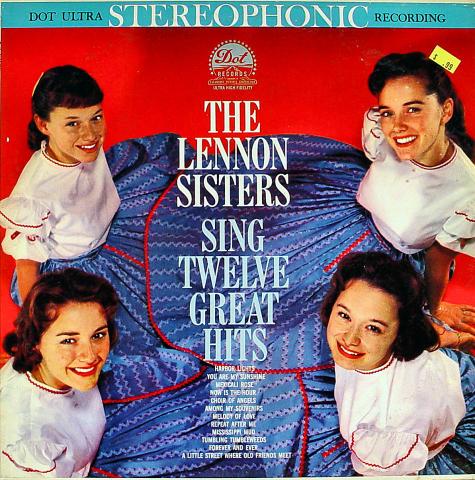 """The Lennon Sisters Vinyl 12"""""""