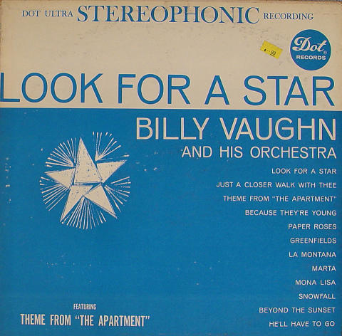 """Billy Vaughn And His Orchestra Vinyl 12"""""""