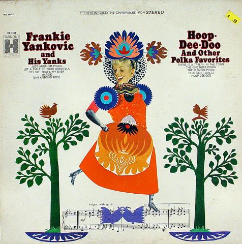 """Frankie Yankovic And His Yanks Vinyl 12"""""""