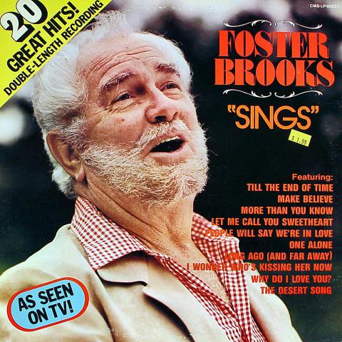"""Foster Brooks Vinyl 12"""""""