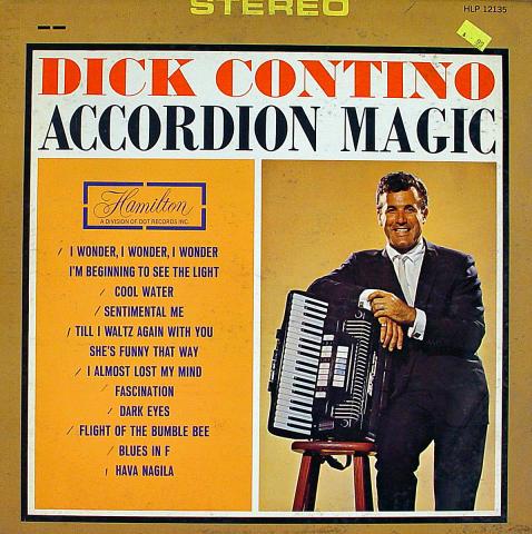 "Dick Contino Vinyl 12"""