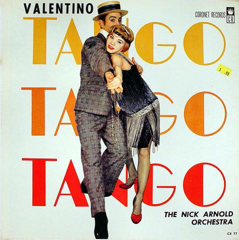 "The Nick Arnold Orchestra Vinyl 12"""